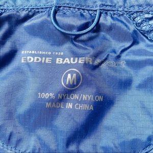Eddie Bauer Jackets & Coats - Eddie Bauer Hooded Windbreaker Waterproof Zip Up